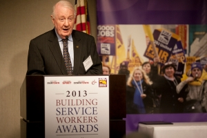 John Egan, Building Manager of the Year, works at 778 Park Avenue.
