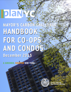 Visit nyc.gov and download the handbook to learn what Co-op and Condo owners can do to help reduce carbon emissions and improve the City's air quality.