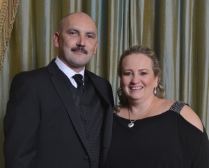 Rob Andrzejewski and his wife Ela. Rob will receive NYARM's Resident Manager of the Year award at their April 24th Gala for his work at  the DEPM-managed Charleston Condominium on East 34th Street.