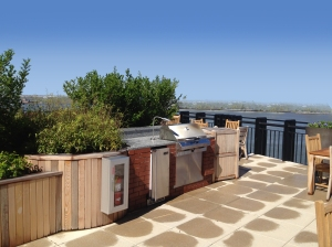 AFTER: Creating a rooftop barbeque area can make a huge change in the lifestyles of all your buildings' residents.