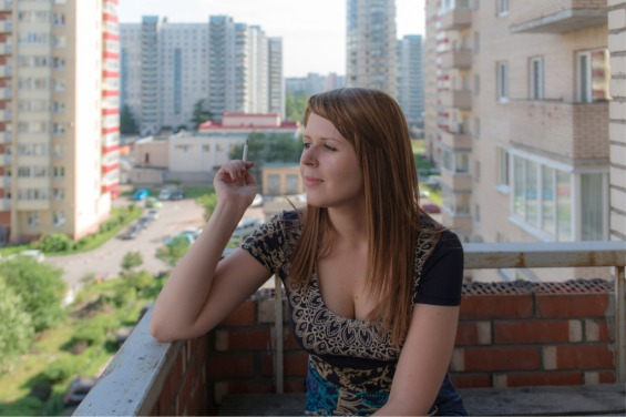 girl-on-the-balcony-picture-id494738200